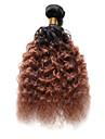 A Ombre Cheveux Indiens Ondulation profonde 12 mois 1 Piece tissages de cheveux