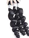 Tissages de cheveux humains Cheveux Bresiliens Ondulation Lache 18 Mois 3 Pieces tissages de cheveux