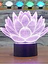 1 W Multifärgad / RGB USB Bimbar / Sensor Nattbelysning / LED Bordslampor 5V V ABS