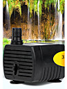 Vattenpump / Filter Ljudlös Plast Svart 3W 220V ~ 240V
