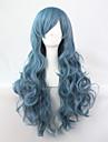 cosplay perruque Perruques pour femmes Bleu Perruques de Costume Perruques de Cosplay