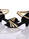 Latin / Pantofi Dans-Pantofi de dans(Negru / Albastru / Roșu / Altele) -Personalizabili-Damă