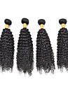 Human Hår vävar Brasilianskt hår Lockigt hår väver
