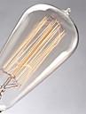 ST64 60w e27 Edison glödlampor incamdescent lampa (AC220-240V)