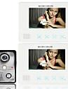 ușă telefon ecran color TFT tactil LCD prin cablu video si interfon 2 monitor sistem de usa interfon ennio7 7 inch