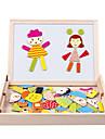 puzzle-uri Jucării Educaționale Blocuri de pereti DIY Jucarii Pătrat Lemn