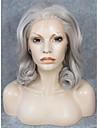 imstyle 16 naturelle regardant melanger vague gris dentelle synthetique dentelle devant perruque cheveux