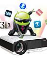 Owlenz® LED86  with android OS LCD Hemmabioprojektor WXGA (1280x800) 2800 Lumens LED 4:3/16:9