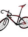 NEASTY Carbon Fiber Road Bike Framesets Frame/Wheelset/Seat Post/Saddle/Handlebar/Headset with Red White Color
