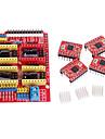 cnc sköld v3 a4988 steg drivrutin för ramper 1,4 RepRap 3D-skrivare
