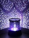 Wedding Décor Color-changing Star Beauty Starry Sky Projector Night Light (3xAA, Random Color)