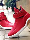 Bărbați Adidași Primăvară Vară Toamnă Iarnă Confortabili Sintetic Casual Toc Plat Dantelă Negru Roșu Alb