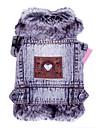 Chat Chien Vestes en Jean Gris Vetements pour Chien Hiver Printemps/Automne Jeans Mode cow-boy