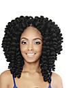 hopp Curl twist Flätor Hårförlängningar 12 Kanekalon 20 Strå 80 gram Hair Braids