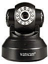 Wanscam® ptz ip camera jour nuit wi-fi configuration protegee detection de mouvement p2p sans fil