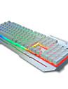 USB clavier mecanique Clavier de jeu clavier ergonomique clavier Multimedia USB axe noir retro-eclairage multi-couleurs