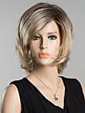 court bang cote rafraichissant perruque de cheveux humains pour les femmes