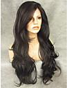 26\'\'natural imstyle recherche longue d\'onde de 150% -180% densite lourde dentelle synthetique devant perruques pour les femmes noires