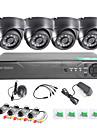 twvision 8ch enregistreur de surveillance 1000tvl cameras dome systeme cctv dvr video hdmi 960H cctv