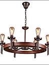 Lampe suspendue ,  Traditionnel/Classique Peintures Fonctionnalite for Style mini Bois/BambouSalle de sejour Chambre a coucher Salle a