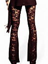 Women Stitching Lace Legging,Others Polyester