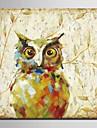 HANDMÅLAD Djur olje~~POS=TRUNC,Moderna Europeisk Stil En panel Kanvas Hang målad oljemålning For Hem-dekoration