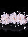 Femei Tul Material Textil Diadema-Nuntă Ocazie specială Informal Clipuri de Păr 1 Bucată