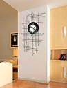 Moderne/Contemporain Niches Horloge murale,Autres Acrylique / Metal 50*80cm Interieur Horloge