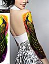1Pcs Tatueringsklistermärken Annat Ogiftig / Stor storlek / VattentätDam / Herr / Tonåring Flash tatuering tillfälliga tatueringar