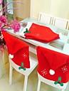 mode jultomten mössa Red Hat möbler stol bakstycket julbord party jul nytt år dekoration
