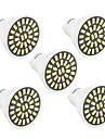 7W GU10 LED-spotlights T 32 SMD 5733 500-700 lm Varmvit / Kallvit Dekorativ V 1 st