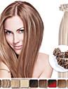 neitsi 16 \'\' rakt ombre pre bundna u spiken spets fusion mänskliga hårförlängningar 1g / s 50g / lot