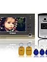 "tmax® 7 ""TFT filaire sonnette systeme de telephone de porte interphone video RFID telecommande camera 600TVL hd ir"