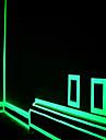 fluorescence verte autocollant nuit bande de ruban lumineux decoration autocollant pour porte d\'escalier voiture moto bande lumineuse de