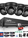 sannce 720p 8ch hd systeme 1080n cctv camera de securite a domicile dvr ir exterieur integre hdd 1tb