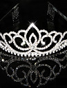 Femme Strass Cristal Casque-Mariage Occasion speciale Tiare