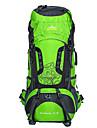 75 L Backpacker-ryggsäckar Cykling Ryggsäck ryggsäck Camping Klättring Fritid Sport Resa Utomhus Fritid SportVattentät Stötsäker