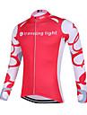 Sportif Maillot de Cyclisme Femme Manches longues Velo Respirable / Sechage rapide / Design Anatomique / Zip frontal / Anti-transpiration