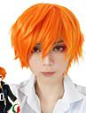 cosplay Suits Haikyuu hack Orange Kort Animé Cosplay Peruker 30CM CM Värmebeständigt Fiber / Syntetiskt Fiber Man