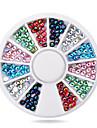 1pcs Nail Art Decoration Strass Pearls makeup Kosmetisk Nail Art Design