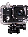 Git2 Actionkamera / Sportkamera 16MP 1920 x 1080 WIFI Vattentät Bred vinkel Multifunktion 60fps 1.5 30 M Dykning Cykel Fallskärmshoppning