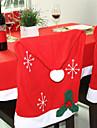 decorations de noel 1pcs non-tisse chaise flocons de neige couvre 50 * 65cm