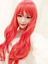 Perruques de lolita Doux Lolita Long Rouge Perruques de Lolita 75 CM Perruques de Cosplay Perruque Pour Femme