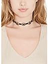 Dam Hänge Halsband Smycken Legering Mode Vintage Victoriansk Minimalistisk Stil Silver Brun SmyckenBröllop Party Halloween Dagligen