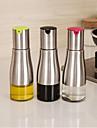1 st rostfritt stål hushåll olja kan fyllning vinäger potten täta tak kök olja ttank