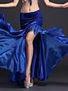 Belly Dance Tutus & Skirts Women\'s Performance Polyester Milk Fiber Pleated 1 Piece Natural Skirt 93
