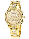 Xu™ pentru Doamne Ceas La Modă Ceas de Mână Quartz Calendar Oțel inoxidabil Bandă Vintage Casual Argint Auriu Roz auriuAuriu Argintiu Roz
