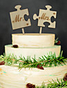 Wood Wedding Decorations-2Piece/Set Spring Non-personalized