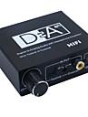 convertisseur numerique-analogique audio stereo avec audio hifi amplificateur casque Toslink coaxial avec la puissance