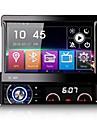 7 Inch Detachable 1 Din Car DVD Player Multimedia System Anti-theft GPS Sat Navi Bluetooth EX-TV Mirror-Link 7 Colors Button Light Universal DK7090LT